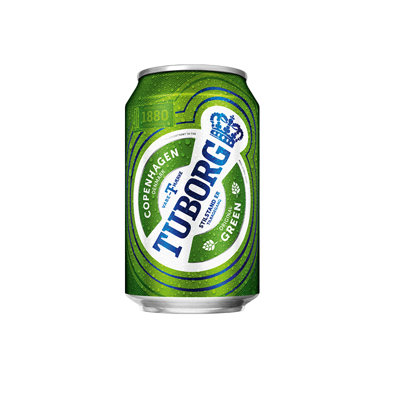 Tuborg 330ml can CHILLED