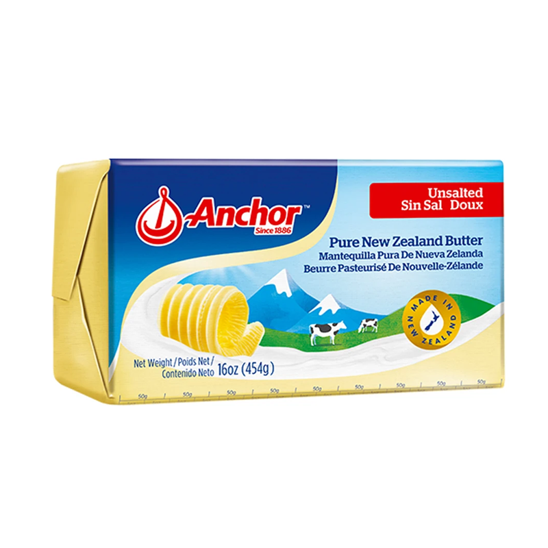 ANCHOR	BUTTER UNSALTED 454G