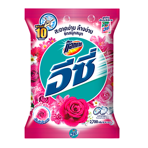 Attack Easy Powder Detergent Happy Sweet Size 2700g