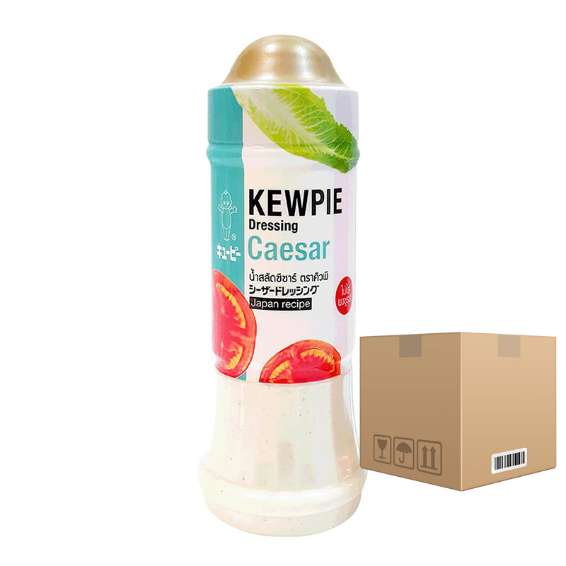 BOX OF 12 Kewpie Dressing Caesar 210ml