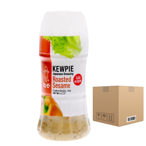BOX OF 12 Kewpie Japanese Dressing Roasted Sesame 125 ml