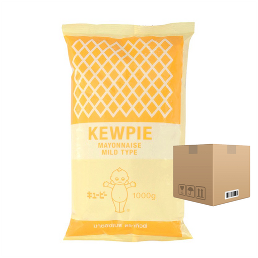 BOX OF 12 Kewpie Mayonnaise Mild Type 1000 ml