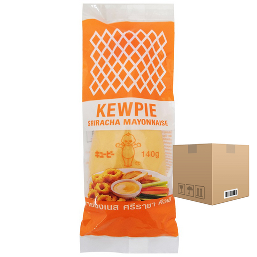BOX OF 12 Kewpie Sriracha Mayonnaise 140 ml