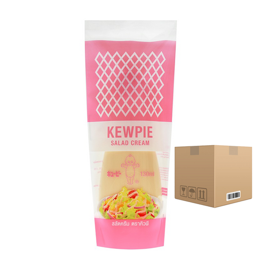 BOX OF 24 Kewpie Salad Cream 130 ml