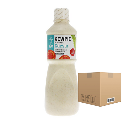 BOX OF 6 Kewpie Dressing Caesar 1000 ml