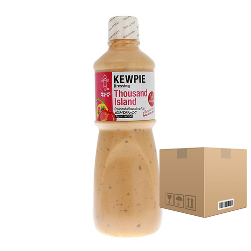 BOX OF 6 Kewpie Dressing Thousand Island 1000 ml