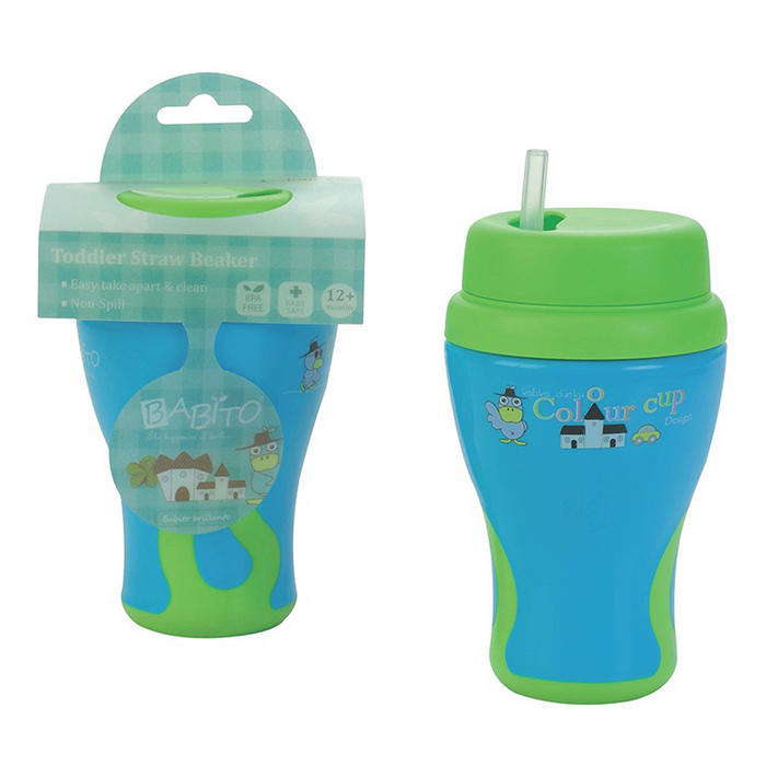 Babito Baby Straw Drinking Cup step 2 12 Months+