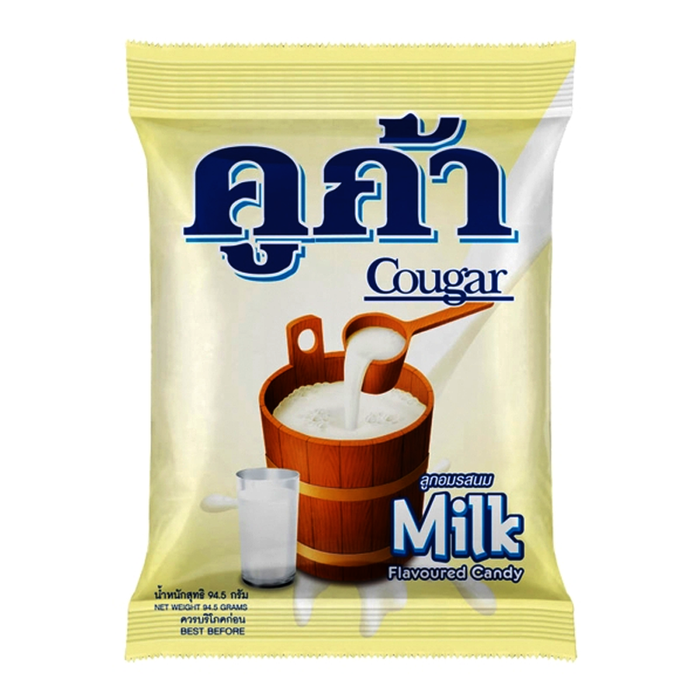 Cougar Milk Flavoured Candy Bag 270g