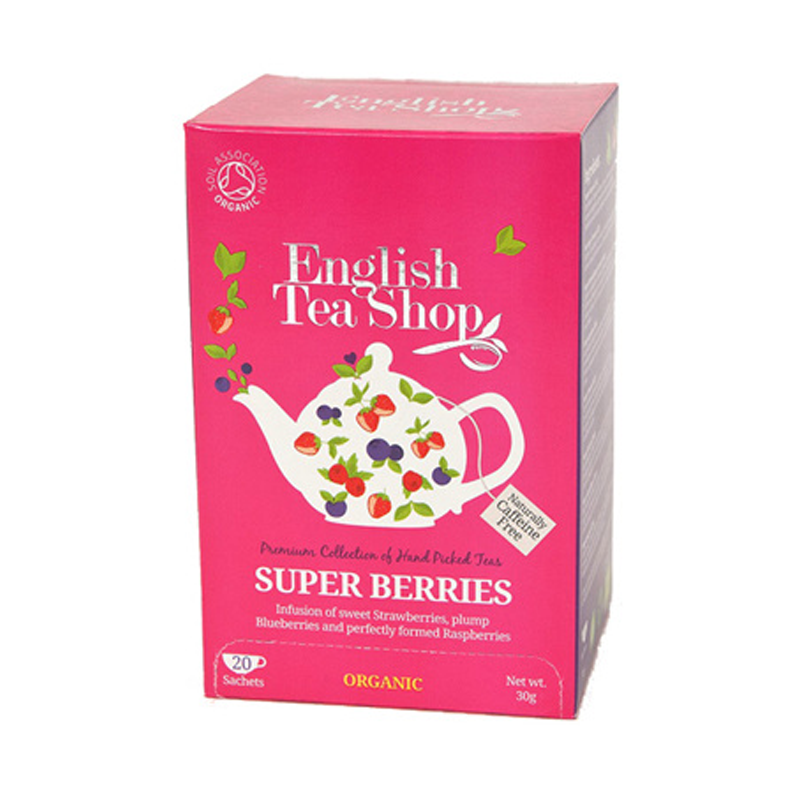 ENGLISH TEASHOP	OG SUPER BERRIES	 30G