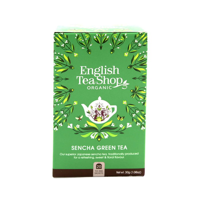 ENGLISH TEASHOP	ORGANIC GREEN SENCHA 40G
