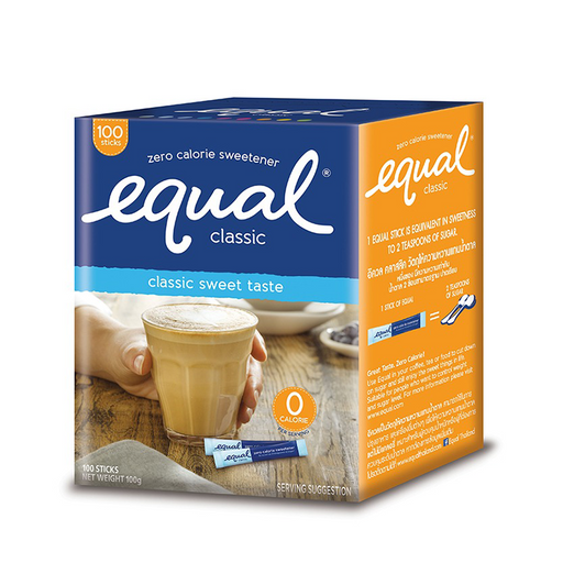 Equal Classic 100g pack of 100 sachets