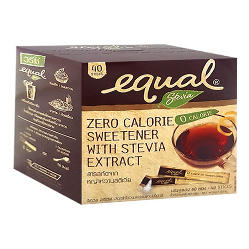 Equal Stevia 80g pack of 40 sachets