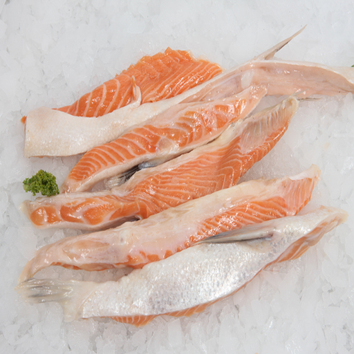FRESH FARM SALMON BELLY  100-300G
