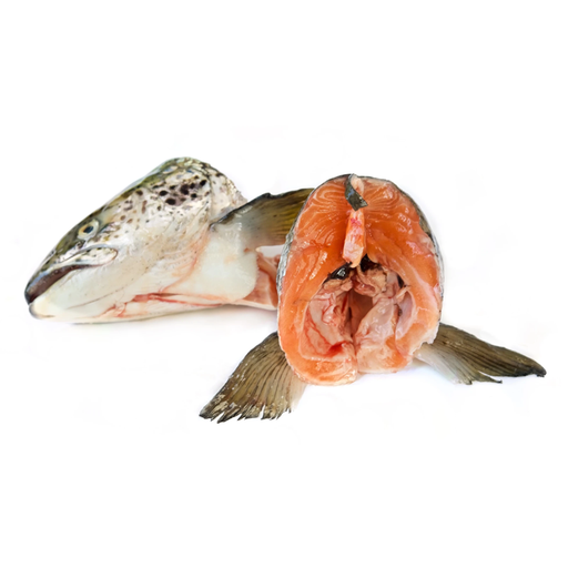 FRESH FARM SALMON HEAD 500G