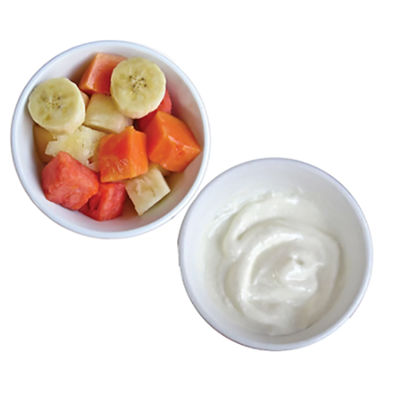 FRUIT, YOGURT