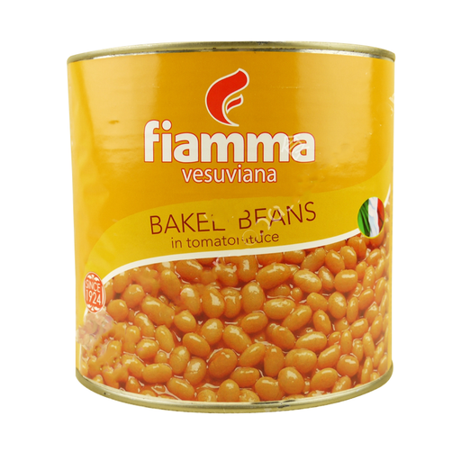 FIAMMA	BAKED BEANS A10	 2500G