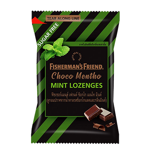 Fisherman's Friend Choco Mentho Mint Lozenges 25g pack of 24 pieces