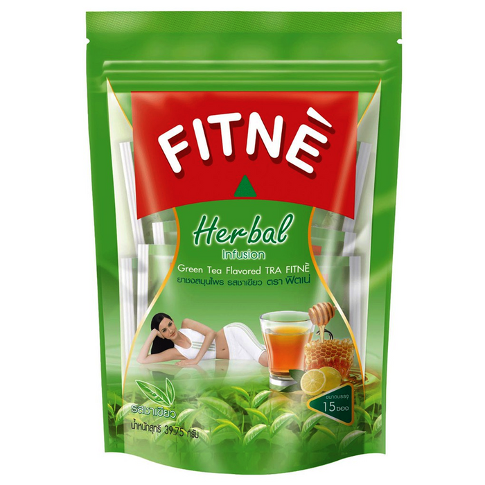 Fitne Herbal Infusion Green Tea Flavored Pack of 20 bags