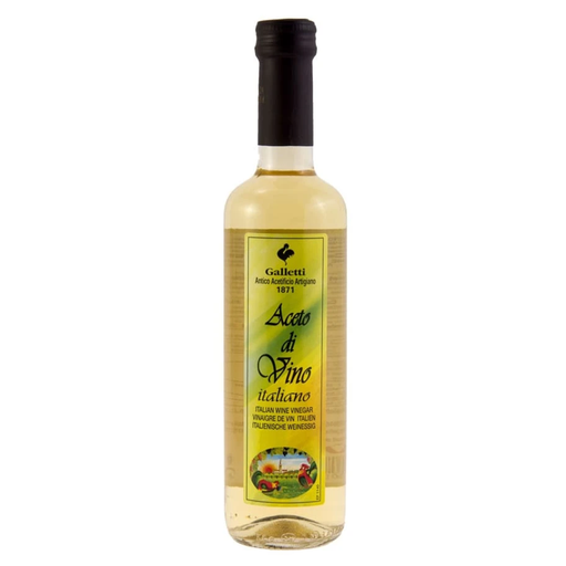 GALLETI WHITE WINE VINEGAR 500ML