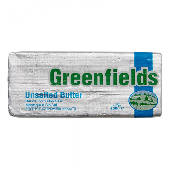 GREENFIELDS	UNSALTED 250G