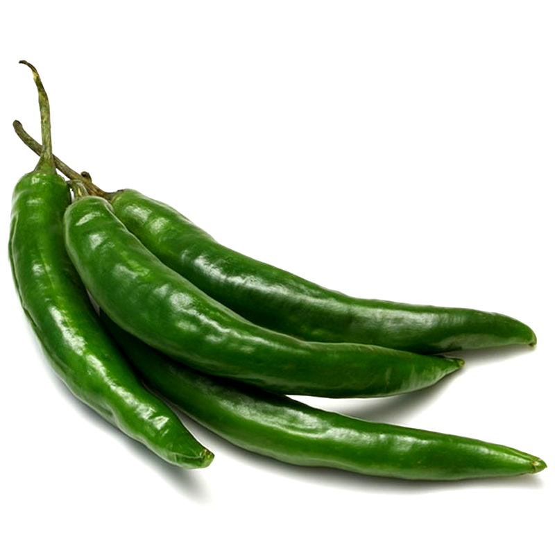Green thin chilli per 0.5kg