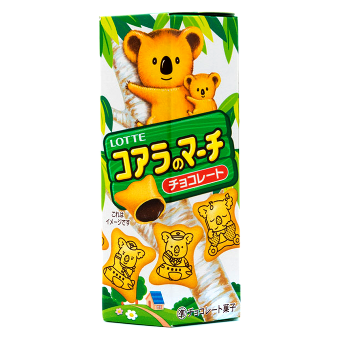 Lotte Koala's March Biscuits with Chocolate Filling Size 37g