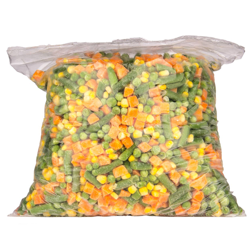 MIXED VEGETABLES 500G PER PACK