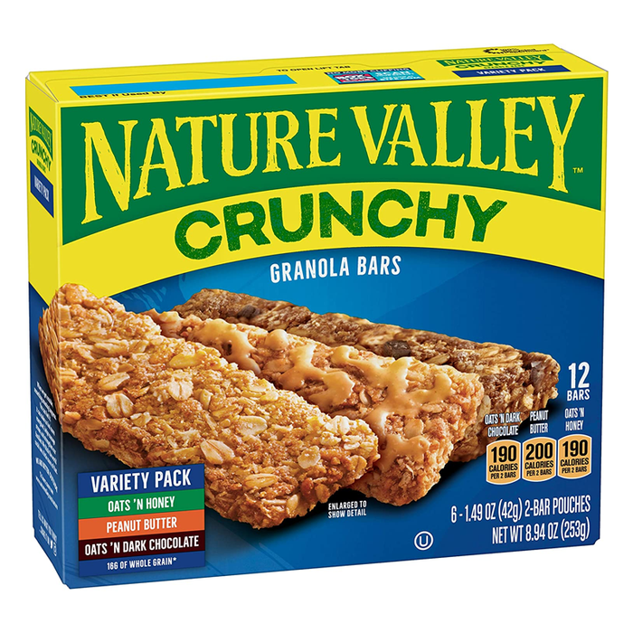NATURE VALLEY  VARIETY PACK	252G