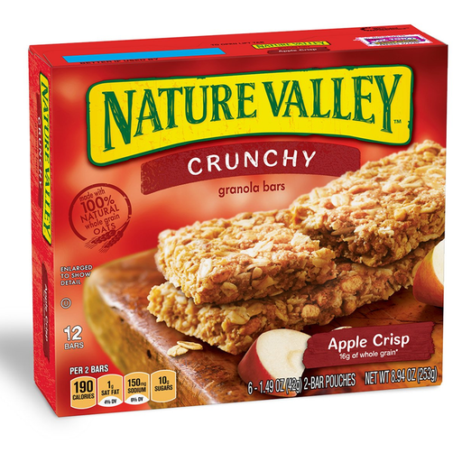NATURE VALLEY APPLE CRISP  325G