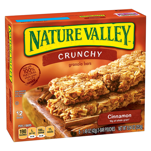 NATURE VALLEY  CINNAMON  325G
