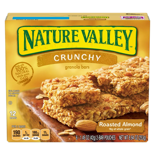 NATURE VALLEY ROASTED ALMONDS  325G