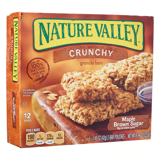 NATURE VALLEY  MAPLE BROWN SUGAR  325G