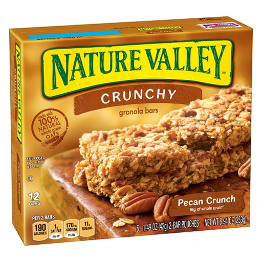 NATURE VALLEY  PECAN CRUNCH 325G