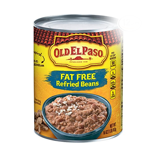 OLD EL PASO	REFRIED BEANS  425G