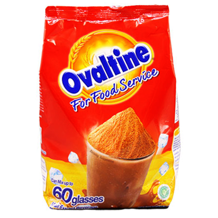 Ovaltine For Food Service Malt Extract Beverage Chocolate Flavoured Bag 1000g