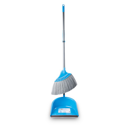"""Poly-Brite"" Broom and Dustpan per set"