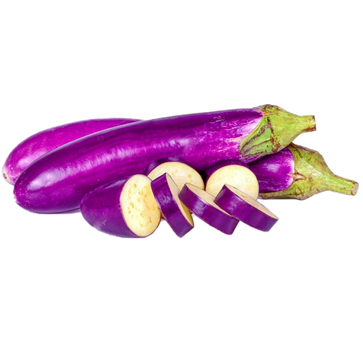 Purple long Eggplant per 0.5kg