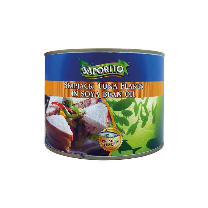 SAPORITO TUNA FLAKES IN OIL 1880G