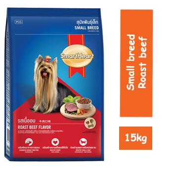 Smart Heart Small breed (Dog) 15 kg Roast Beef