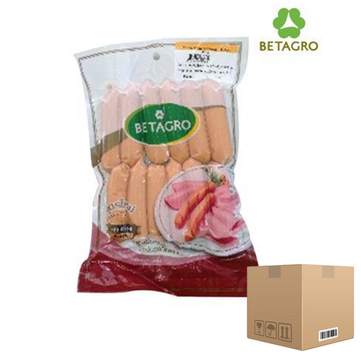 Box of 12x Smoked Cheese Sausages 450 g pack (frozen) Price: 366.000/1 box, Minimum order 2 Boxes