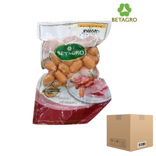Box of 12x Smoked Cocktail Sausages 450 g pack (frozen) Price: 342.000/1 box, Minimum order 2 Boxes