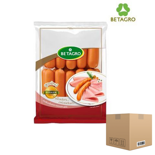 Box of 12x Smoked Garlic Sausages 1 Kg pack (frozen) Price: 540.000/1 box, Minimum order 2 Boxes