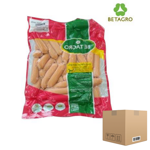 Box of 12x Smoked Vienna Sausages 1 Kg pack (frozen) Price: 558.000/1 box, Minimum order 2 Boxes