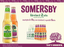 Somersby 330ml 2x Carton of 24 bottles + GET 5x Waterbags & 5 bottles for FREE