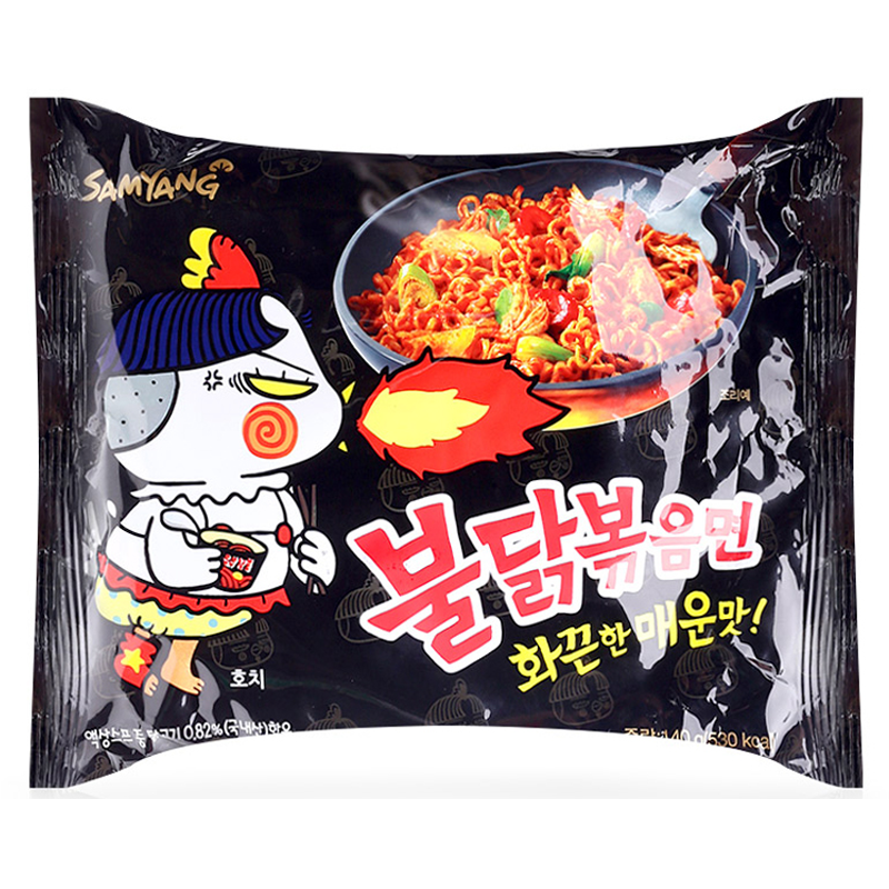 Sumyang Hot Spicy Chicken Flavor Ramen Instant Noodles Size 140g