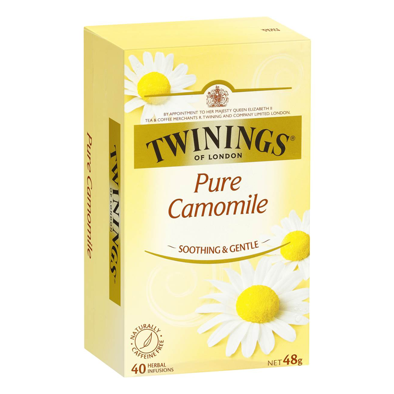 TWINNINGS	PURE CAMOMILE FLOWER  50G