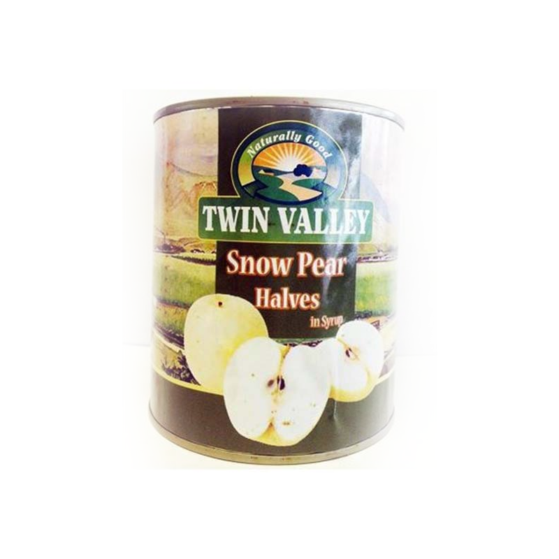 TWIN VALLEY	SNOW PEAR	820G