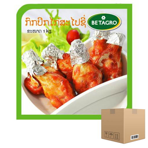 Box of 12x Wing Stick Spicy 1 kg pack (frozen) Price: 714.000/1 box, Minimum order 2 Boxes