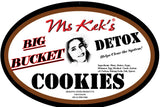 BIG BUCKET Detox Activated Carbon Cookies 40+ pcs