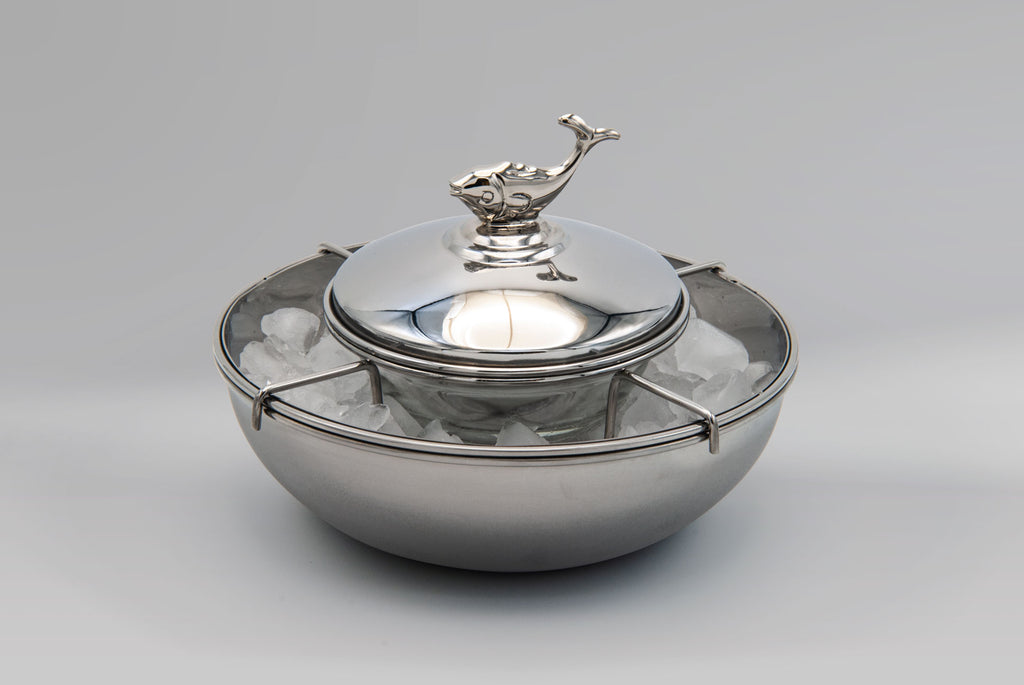 Beluga Caviar Server with Ice